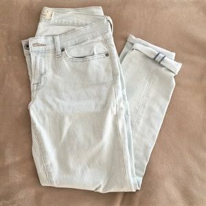 Lucky Brand Striped Jeans - size 6/28